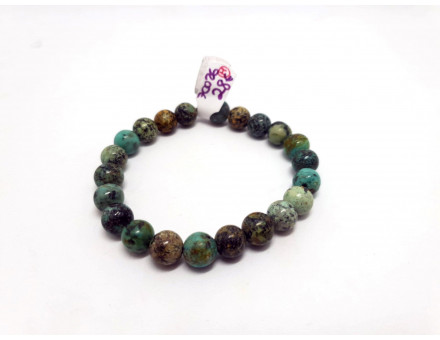 TURQUOISE AFRICAINE 8 MM