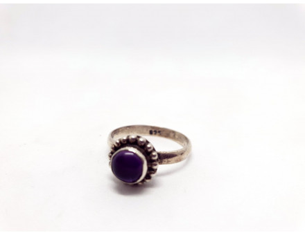 AMETHYSTE ARGENT TAILLE 57