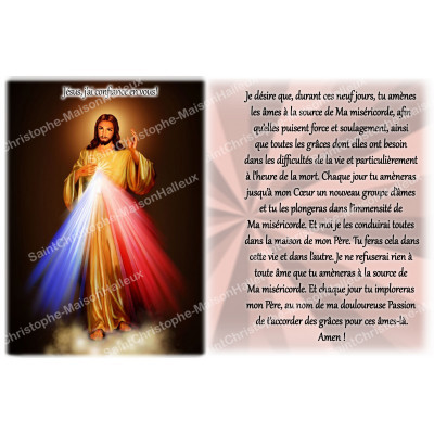 NEUVAINE AUTRES JESUS 3