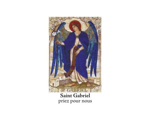 NEUVAINE LES SAINTS SAINT GABRIEL 1