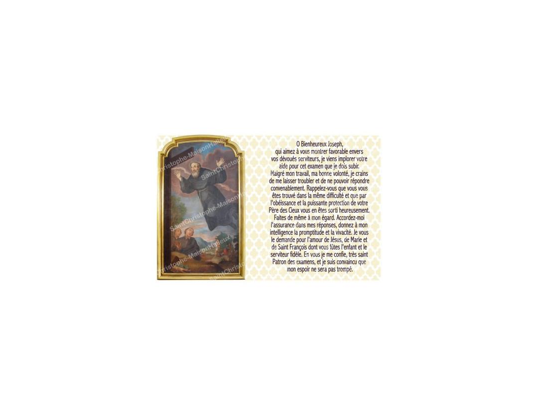 NEUVAINE LES SAINTS SAINT JOSEPH 5