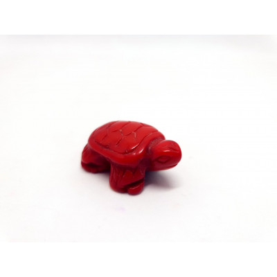 ANIMAL TORTUE BAMBOU CORAIL